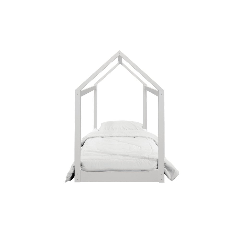 HICKORY HOUSE BED - WHITE