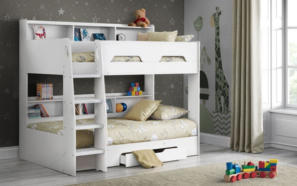 ORION BUNK BED - PURE WHITE