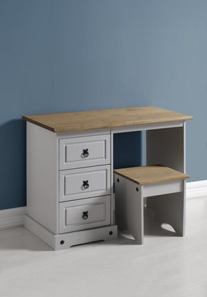 CORONA DRESSING TABLE - GREY