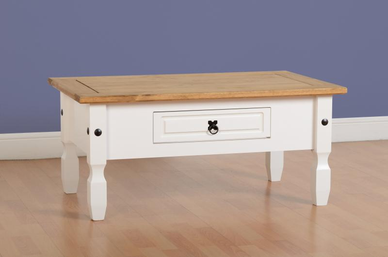COFFEE TABLE - WHITE