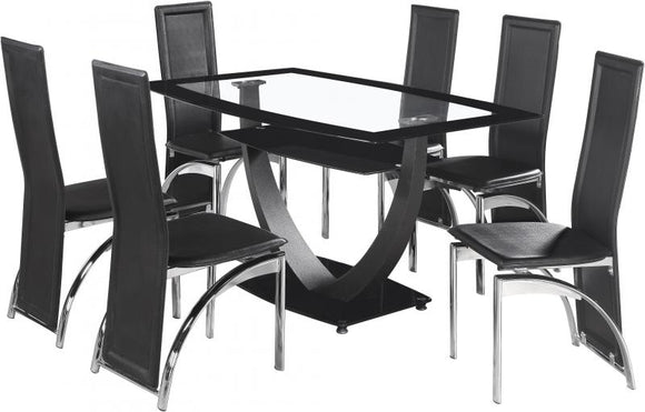 HANLEY 6 SEAT DINING SET