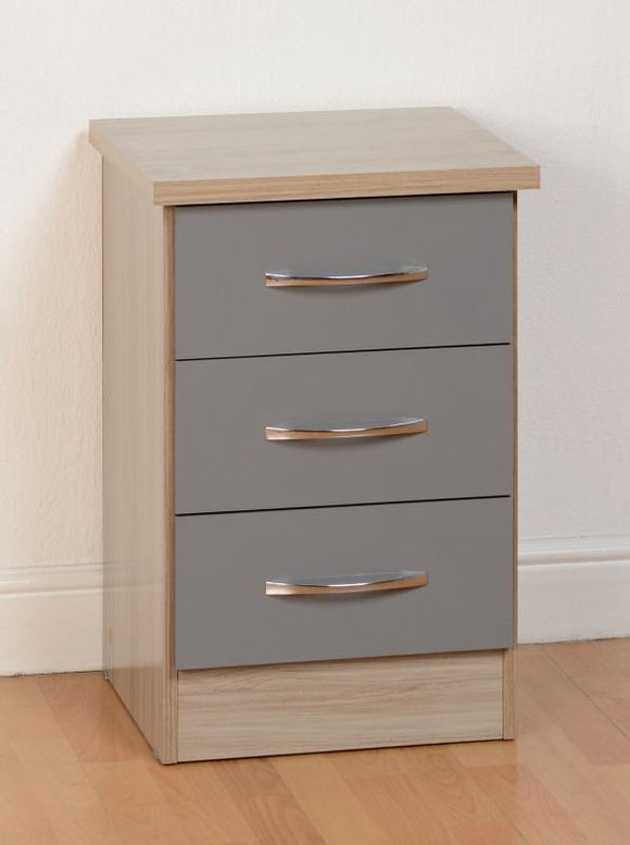 NEVADA BEDSIDE TABLE - 3 COLOURS