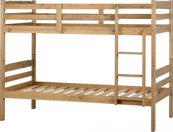 PANAMA BUNK BED - WAX EFFECT