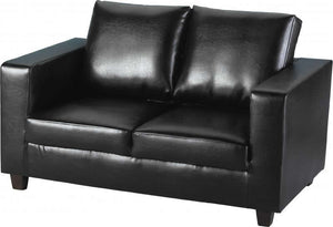 TEMPO-SOFA-IN-A-BOX - BLACK PU