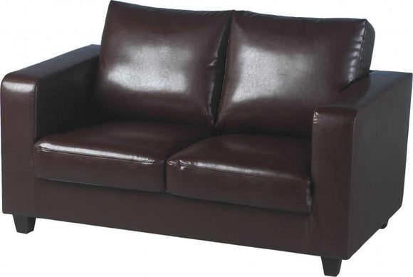 TEMPO-SOFA-IN-A-BOX - BROWN PU