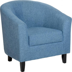 TEMPO TUB CHAIR - BLUE FABRIC