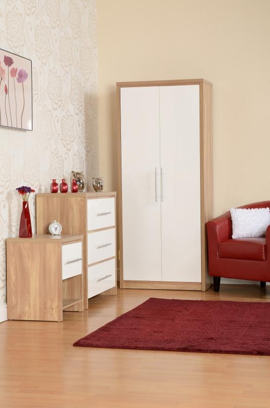 SEVILLE BEDROOM TRIO - WHITE