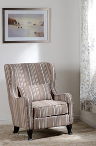 SHERBORNE FIRESIDE CHAIR - BEIGE