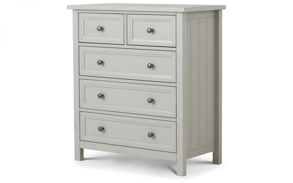 MAINE 3+2 CHEST - DOVE GREY