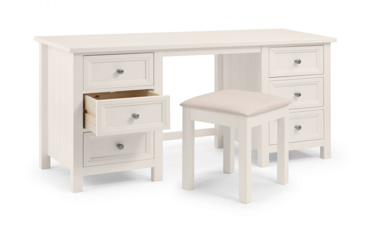 MAINE DRESSING TABLE - SURF WHITE