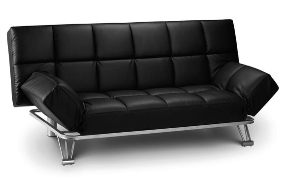 MANHATTAN SOFA BED - BLACK OR BROWN