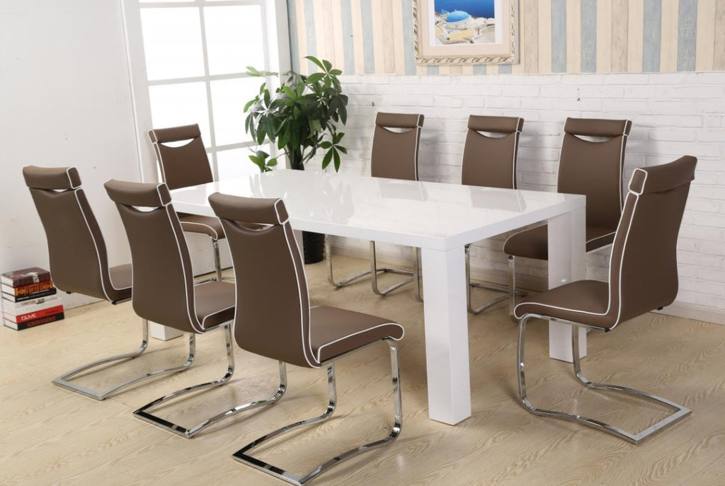 MELINDA 8 SEATER DINING SET