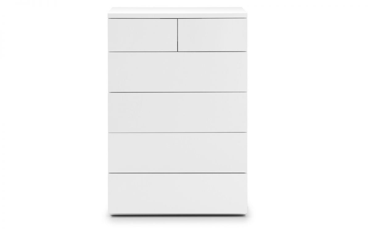 MONACO 4+2 CHEST - WHITE GLOSS