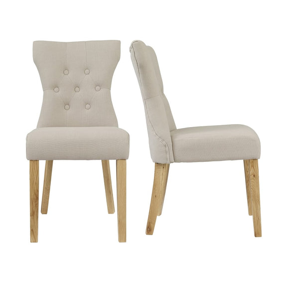 NAPLES DINING CHAIR - BEIGE