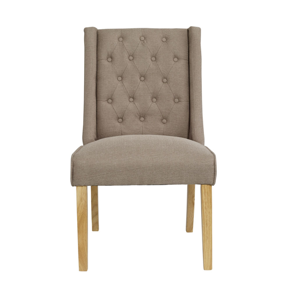VERONA DINING CHAIR - BEIGE
