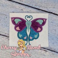 Butterfly Love Applique