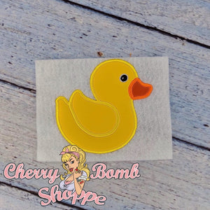 Rubber Duck Applique
