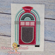 Jukebox Applique