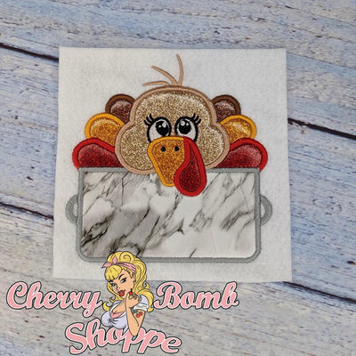 Turkey in a Pot Applique