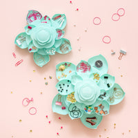 Mini Bloom Embellishment Storage - Mint