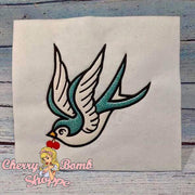 Swallow Applique