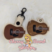 Electric Guitar Key Fob