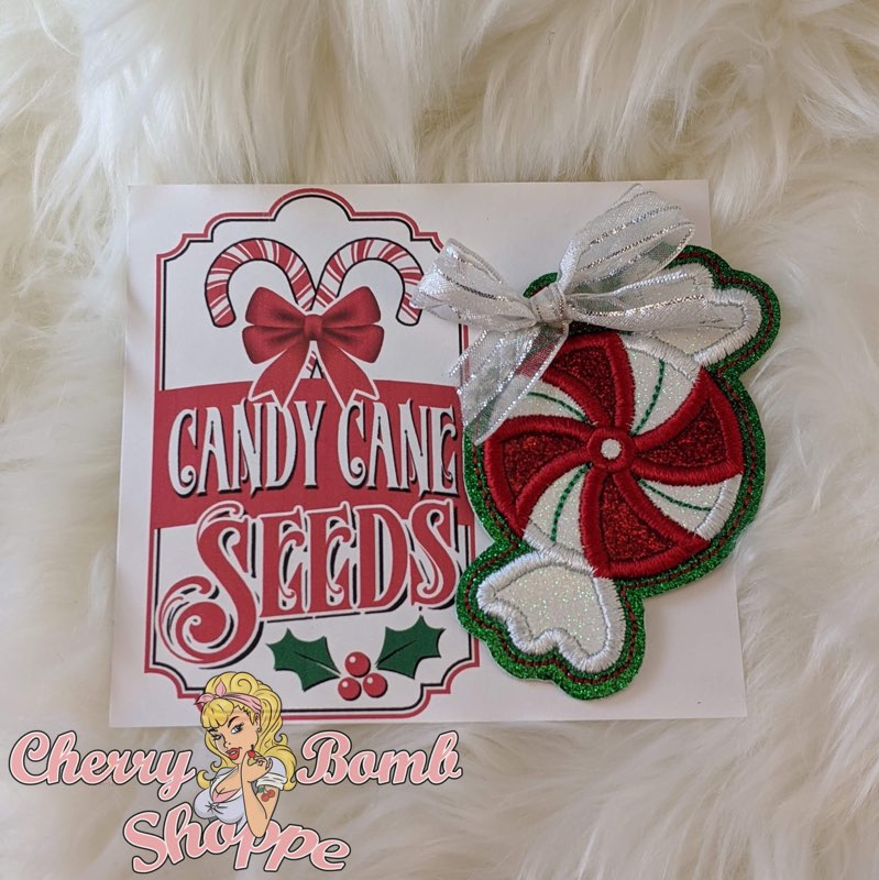 Candy Cane Seeds Peppermint Ornament