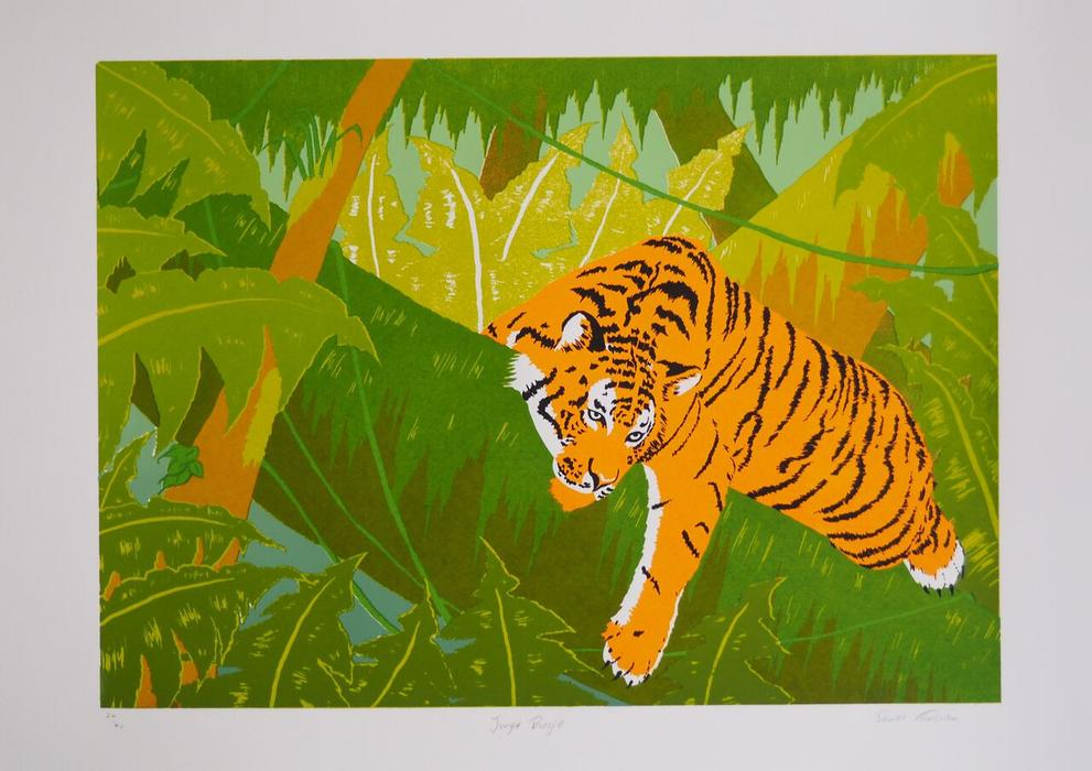 Jungle Boogie Screen Print