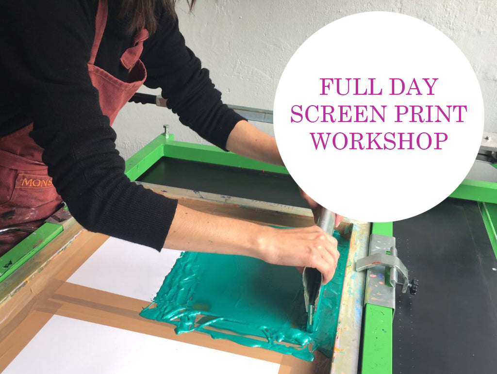 Full Day Screen Printing Workshop