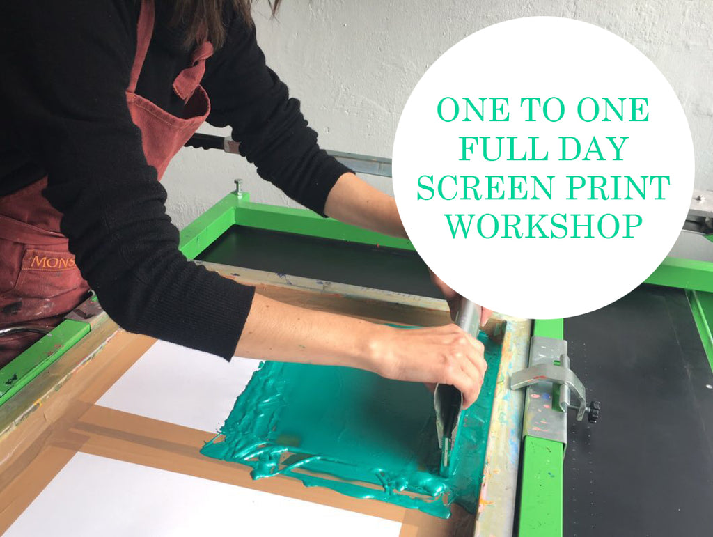 One to One Screen Printing Workshop