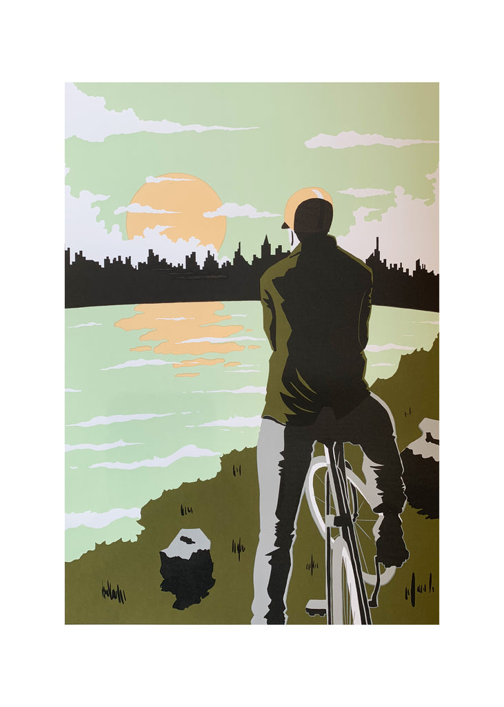 Ride Away Screen Print