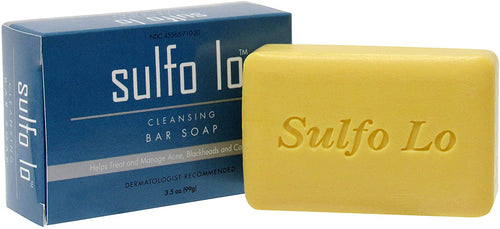 Sulfo Lo Cleansing Bar Soap