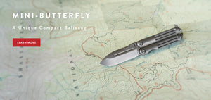 Mini-Butterfly, a Unique Balisong Type Knife.