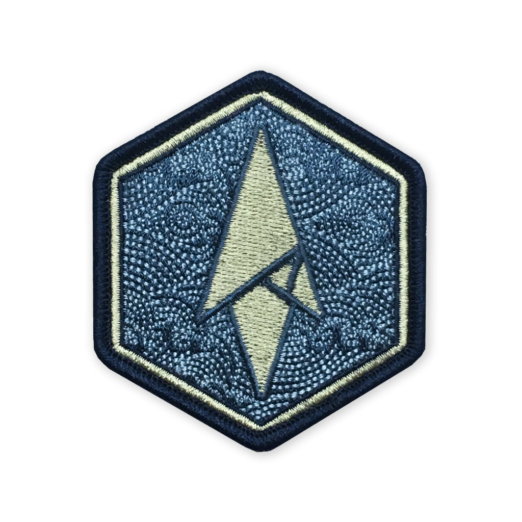Logo Morale Patch - Maritime Hexagon