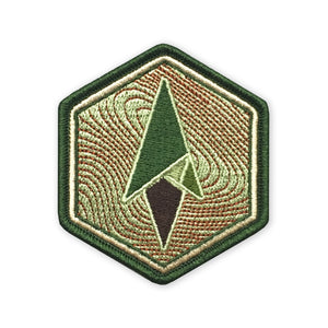 Logo Morale Patch - Topo Hexagon