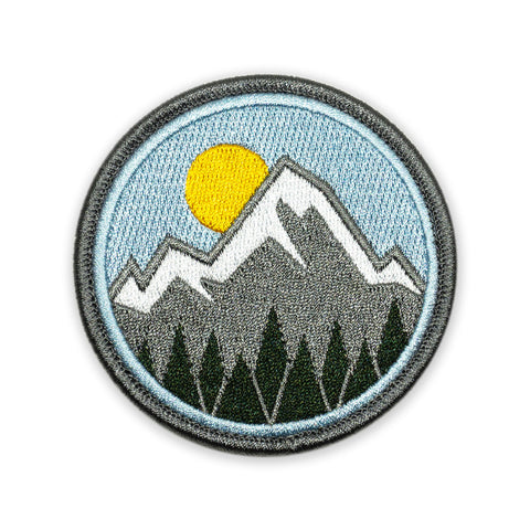 Mountain Life Icon Morale Patch