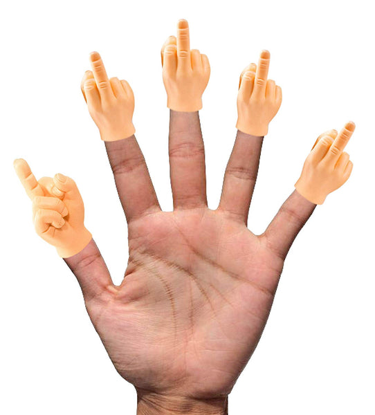Tiny Hands - Middle Fingers up! (5 pack)