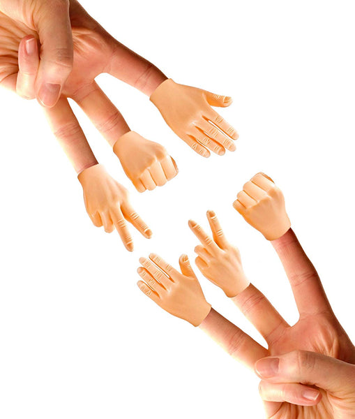 Tiny Hands - Rock, Paper, Scissors (6 pack)