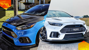 Double Trouble: Ford MK3 Focus RS (@mad_rs_ & @northern.rs)