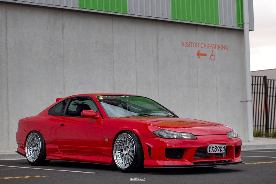 Alex Berry: Nissan S15 Aero Splitter Set | Flow Designs Australia