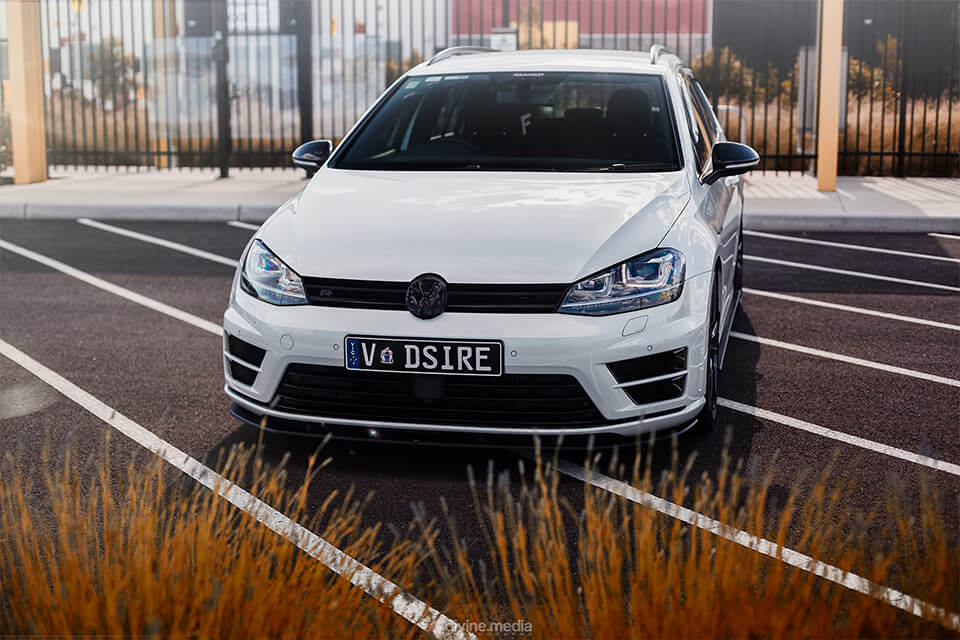 DSIRE: VW MK7 Golf R Wagon Splitter Set | Flow Designs Australia