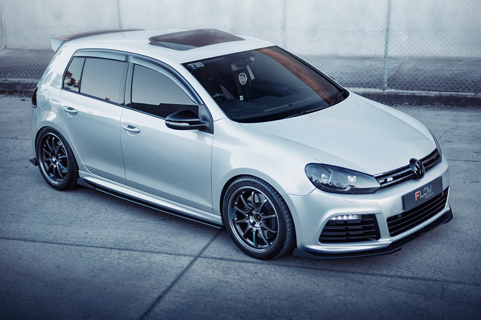 HMU: VW MK6 Golf R Splitter Set | Flow Designs Australia