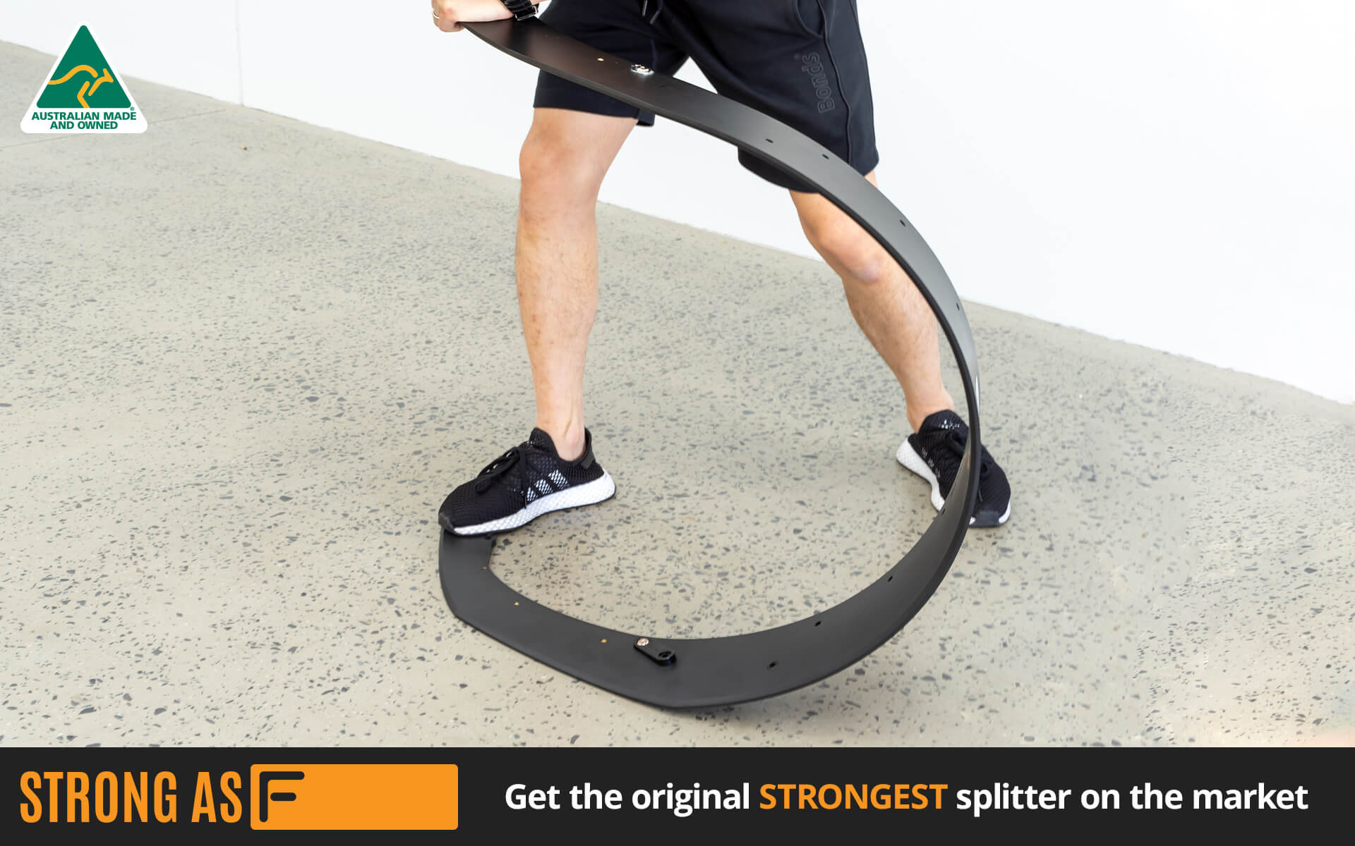 Strong As F - The Original Strongest Lip Splitter