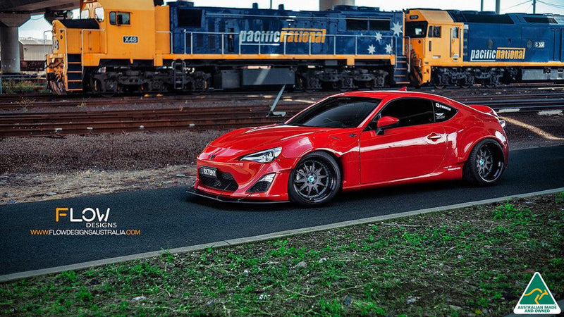 Buy Toyota 86 (Rocket Bunny) Front Lip Splitter & Support Rods Online