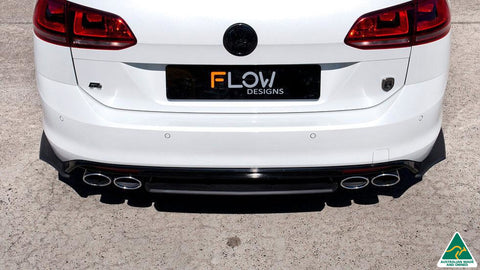 VW MK7 Golf R Wagon Rear Valance (3 Piece) | Flow Designs Australia