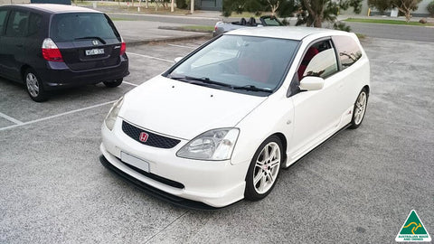 Honda EP3 Civic Type R Front Splitter | Flow Designs Australia