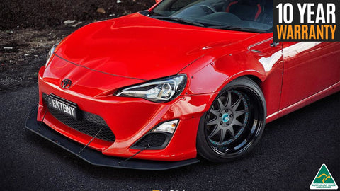 Rocket Bunny Toyota FT86 Front Splitter | Flow Designs Australia