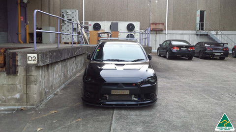 Mitsubishi Lancer Ralliart Front Splitter | Flow Designs Australia