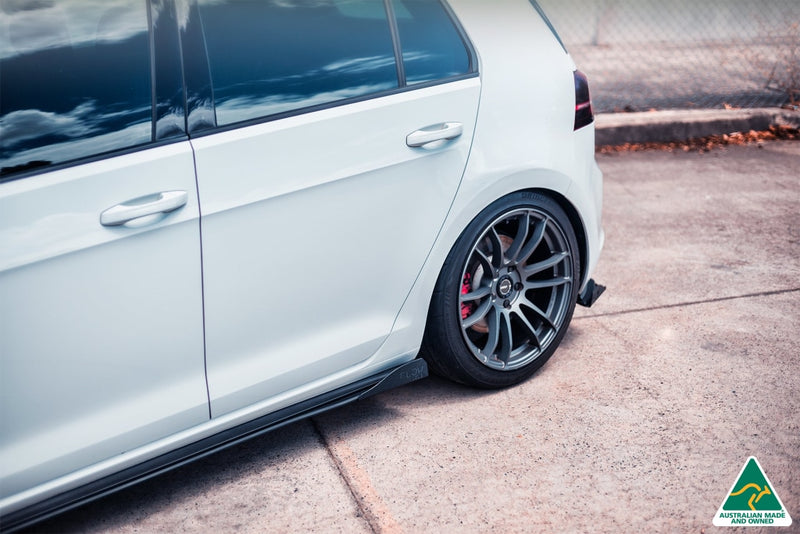 Volkswagen MK7 Golf GTI (2012-2016) Side Skirt Splitter Winglets