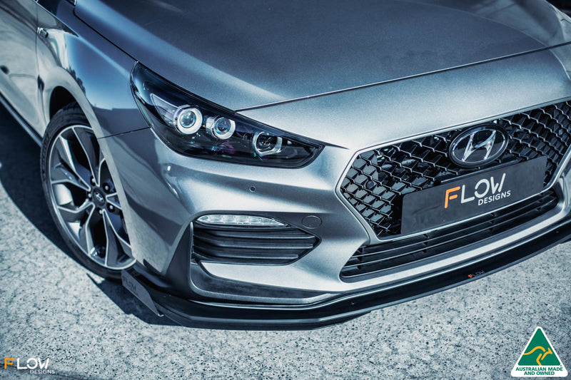 i30 N Line Hatch PD Front Lip Splitter